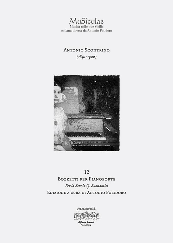 12 bozzetti per pianoforte Antonio Scontrino