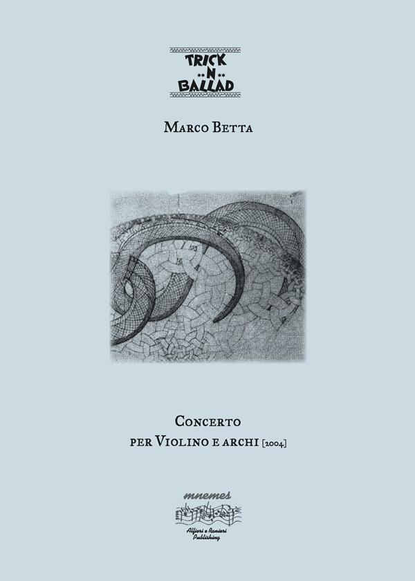 Concerto per violino e archi Marco Betta